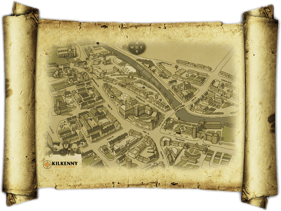 Things to do - Treasure Hunt Map