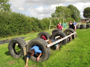 hen parties assault course